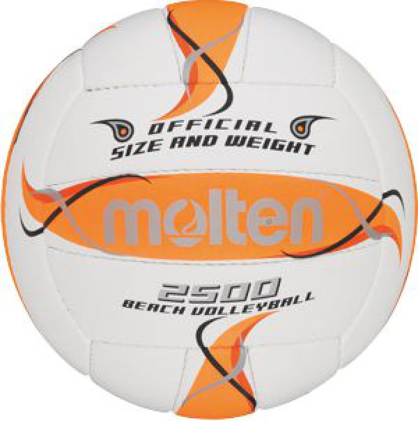 Beachvolejbalový míč MOLTEN BV2500-FOR – pro výkonnostní a rekreační sport.    a887e0fdac